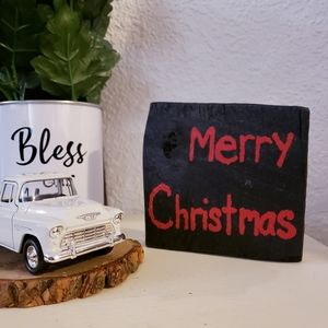 🌵 merry Christmas happy birthday jesus decor wood
